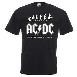 AC-DC-Evolution-Of-Rock-T-shirt-Mens-Kids-Sizes-Angus-Young-Let-There-Be-Rock