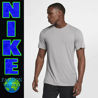 Clothing, Shoes & Accessories Contemplative Nike Men's Size Large Breathe Elite Basketball Top Grey 891682 027 To Reduce Body Weight And Prolong Life Men's Clothing