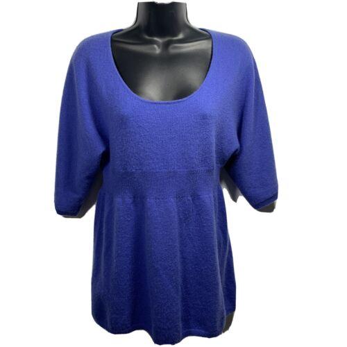 MAINBOCHER Womens 100% 2PLY CASHMERE Sweater Empir