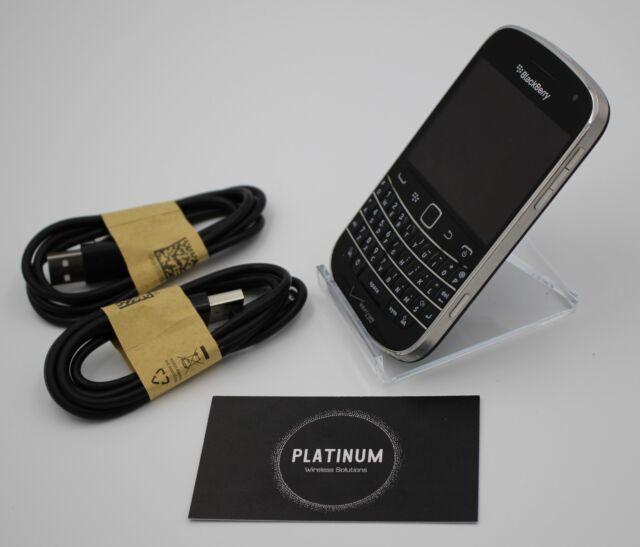 BlackBerry Bold 9930 - (Sprint) - 8GB Black  QWERTY NO CAMERA