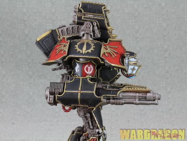 120mm Warhammer 40K WDS pianted Adeptus Titanicus Warlord Warlord Warlord Battle Titan d28 4edf17