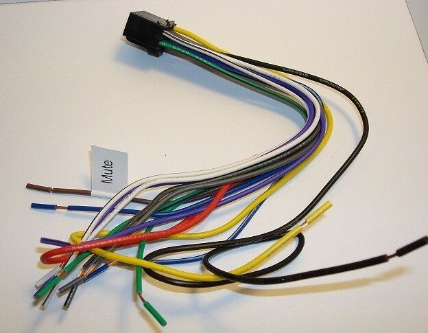 JENSEN DVD Wire Harness VM9214 VM9424 VM9414 VM9115 VM9215BT VM9214BT  VM9424BT for sale onlineeBay