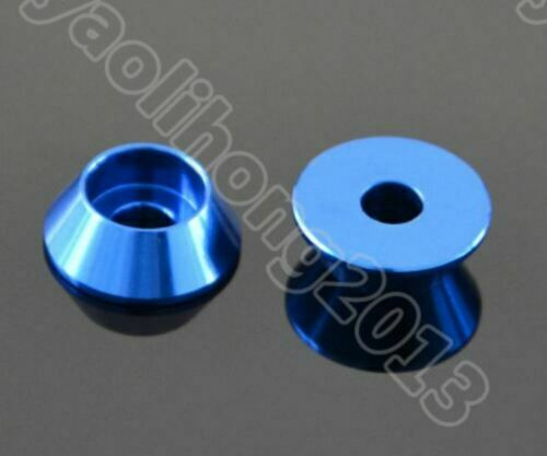 M3 M4 Aluminum Alloy Cone Cup Head Washers Gasket Fit for Bolts /& Screws