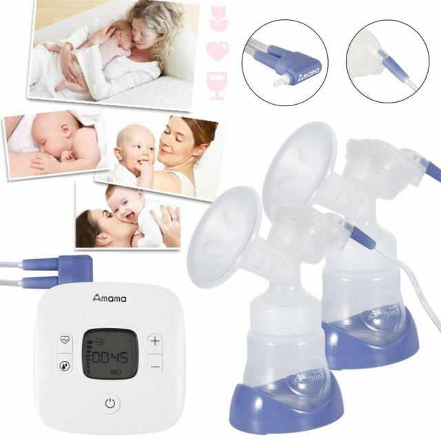 Baby USB Elektrische Milchpumpe Brustpumpe Stimulieren Laktation Babyflasche DE