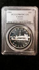 1984 Canada PCGS PR 69 DCAM 1 Dollar