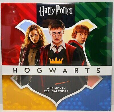 "HARRY POTTER HOGWARTS 2021 A 16 Month 12"" x 12"" Wall ..."