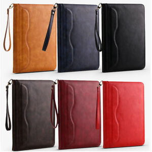 Magnetic-Smart-Luxury-Leather-Case-Stand-Back-Cover-Hand-Rope-For-iPad-Pro-10-5-034