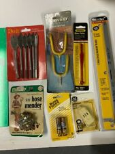 Mixed Lot Of New Sealed Tools Spade Bit Set Hacksaw Blades Glass Cutter