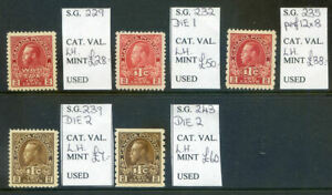 Canada-1916-16-run-of-5-War-Tax-issues-mint-2019-10-28-03
