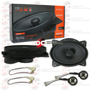 POWERBASS-OE692-TY-6-034-x-9-034-2-WAY-CAR-SPEAKERS-FOR-SELECT-TOYOTA-LEXUS-SCION
