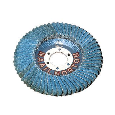 """4.7/"""" Flap Sanding Grinding Wheel Disc Polishing Buffing Abrasive Tool 80#~600#"""