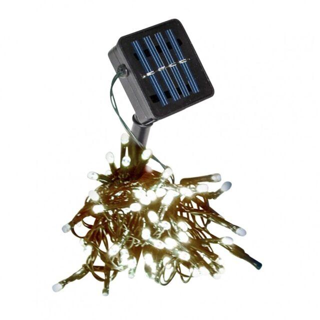 Solarlichterkette 150er Warmweiss Lichterkette Solarkette Solarbeleuchtung