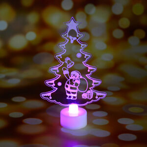 Details About Christmas Tree Decoration Colorful Led Decorative Lights New Year S Products Uk
