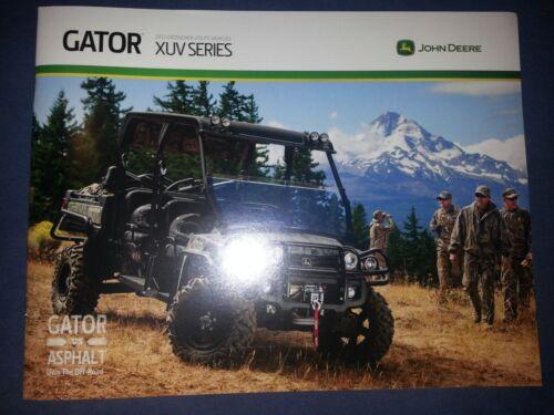 """John Deere 2013 /""""Gator XUV Series/"""" Catalog Brochure Leaflet"""