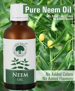 Details about Neem Oil For Skin & Hair Care Premium Virgin Neem Oil 100%  Natural & Pure 50ml S