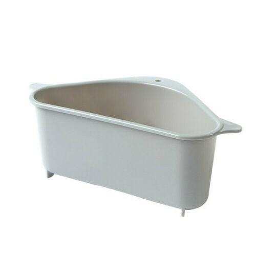 Sink Basket Triangle Storage Holder Drain Shelf Sucker Kitchen Rack Organize New
