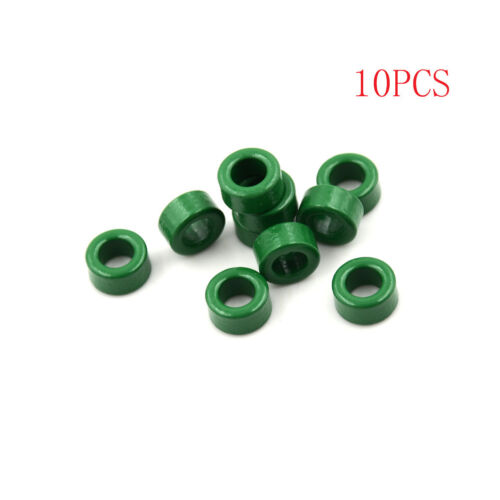 10Pcs Inductor Coils Green Toroid Ferrite Cores Anti-interference 10x6x5mm—HQ