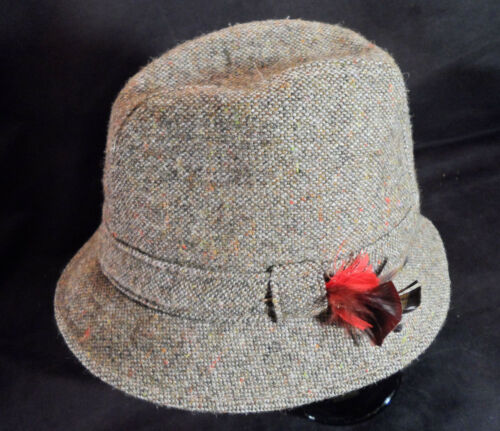 Shandon Headwear Wool Tweed Irish Walking Hat -- S