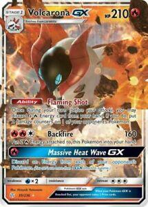 Cosmic Eclipse 35//236 Pokemon Card TCG Volcarona GX SM Ultra Rare