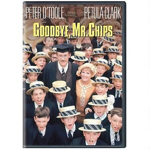 Goodbye-Mr-Chips-1969-UK-Region-2-Compatible-DVD-Peter-O-039-Toole-Petula-Clark