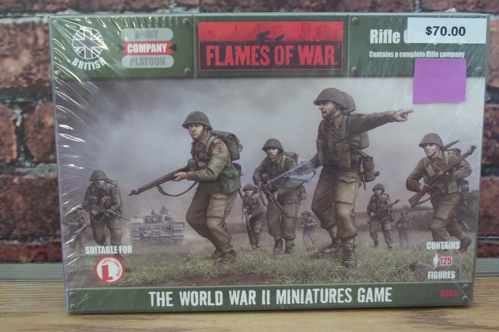 Flames of War - British Rifle Company BBX11 Miniatures