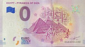 BILLET-0-EURO-EGYPT-CLEOPATRA-2019-NUMERO-4400