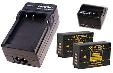 4in 1 LADER  USB + 2x  AKKU EN-EL 20  für Nikon DL24-500 F/2.8-5.6 EN-EL20a