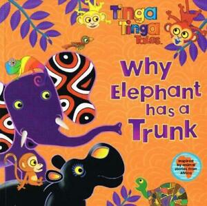 Why-Elephant-has-a-Trunk-Tinga-Tinga-Tales-by-unknown-Paperback-Used-Book-G