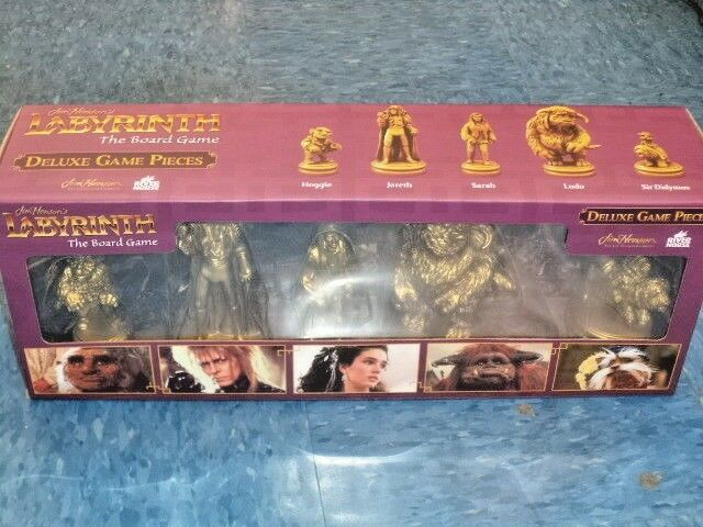 Jim Henson`s Labyrinth: The Board Game Deluxe Game Pieces Expans Board Game New