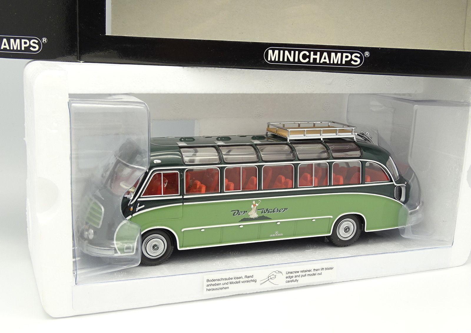 Minichamps 1 43 - Coche AutoCoche Setra S8 Der Walser Reisen