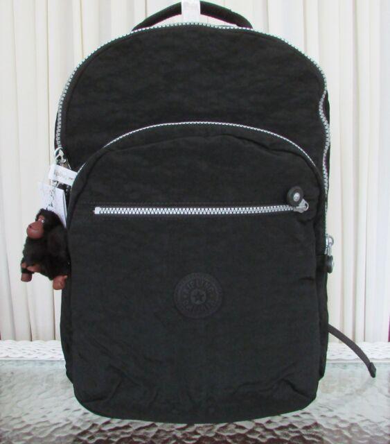 Polémico Con fecha de beneficioso  Kipling Seoul Backpack With Laptop Protection Black Large Bag Bp4412 for  sale online | eBay
