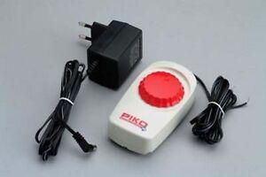 PIKO-H0-55003-Fahrregler-DC-034-Speedcontrol-034-amp-Netzteil-Adapter-5-4VA-Neu