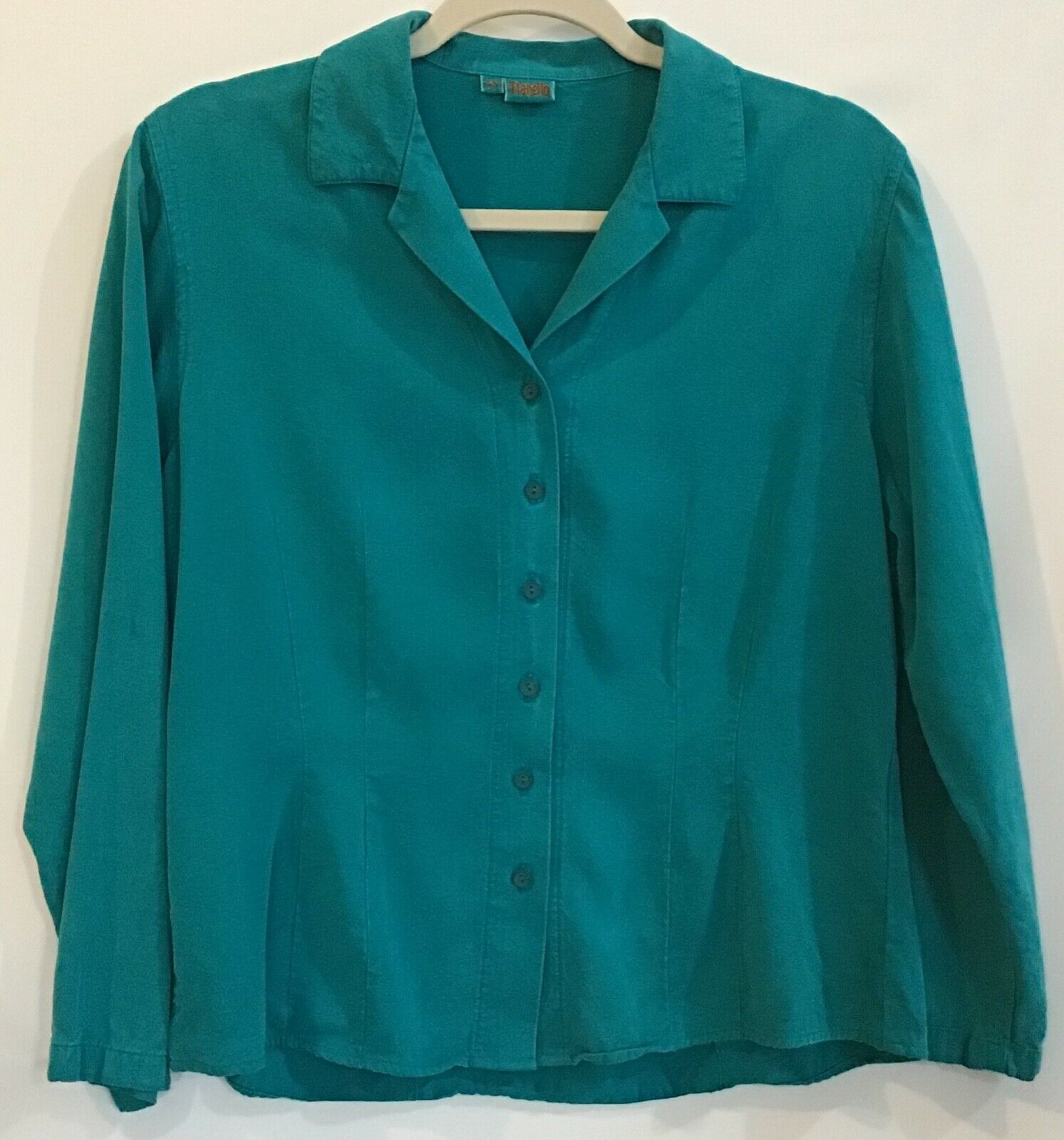 Tianello XS Extra Small Turquoise Teal Tencel Ray… - image 1