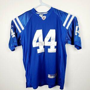 Details about NFL Indianapolis Colts Dallas Clark #44 Jersey Men's Size 54 sewn Reebok