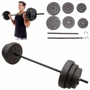 Sport en vakantie Standard Weight Set Gold's Gym 100 lbs Workout Equipment Fitness Lifting Plates Bodybuilding, gewichten