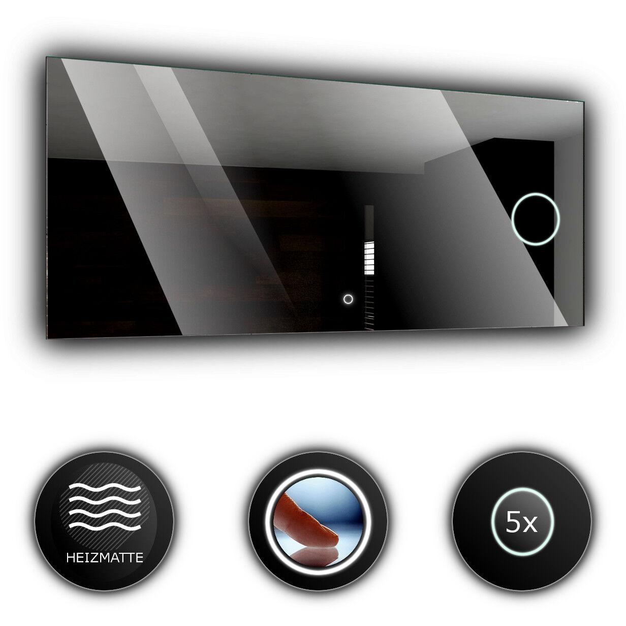 DUBAI Lumineux LED Bain LED Miroir De la Salle mural   grossissant interrupteur
