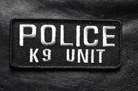 Police K 9 Unit Law Enforcement Tactical Swat Hook K9 Unit Patch