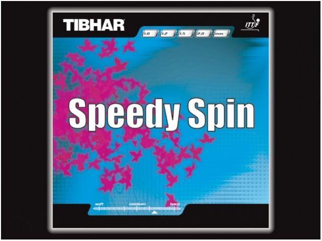 Tibhar Speedy Spin  Tischtennis-Belag Tischtennisbelag Tischtennisbelag Tischtennisbelag 5cffb2