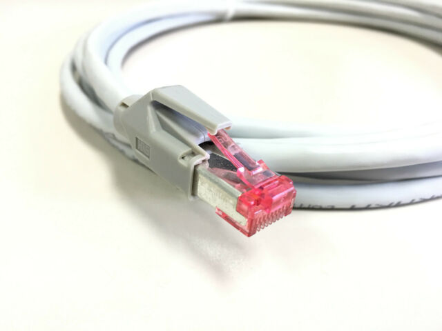 RJ45 Patchkabel Netzwerkkabel Rohkabel Patch LAN Kabel CAT. 7 S/STP PiMF 600 Mhz