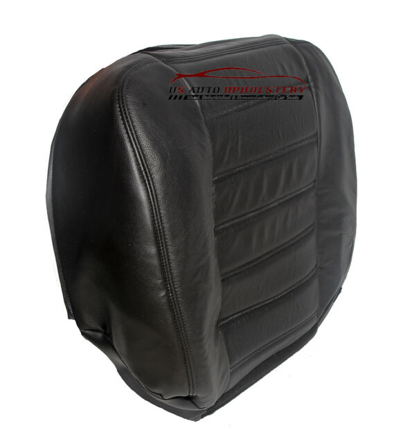 Black 2003-2007 Hummer H2 Driver 4x4 Side Bottom Replacement Leather Seat Cover