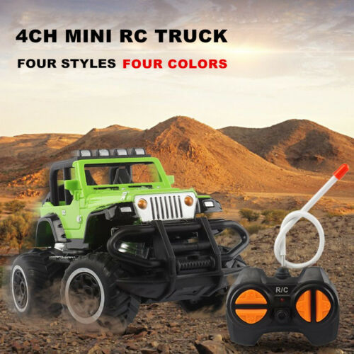 Toy Boy Kids RC Car Jeep Vehicle Off Road Driving 3 4 5 6 7 8 9 Cool Xmas Gifts
