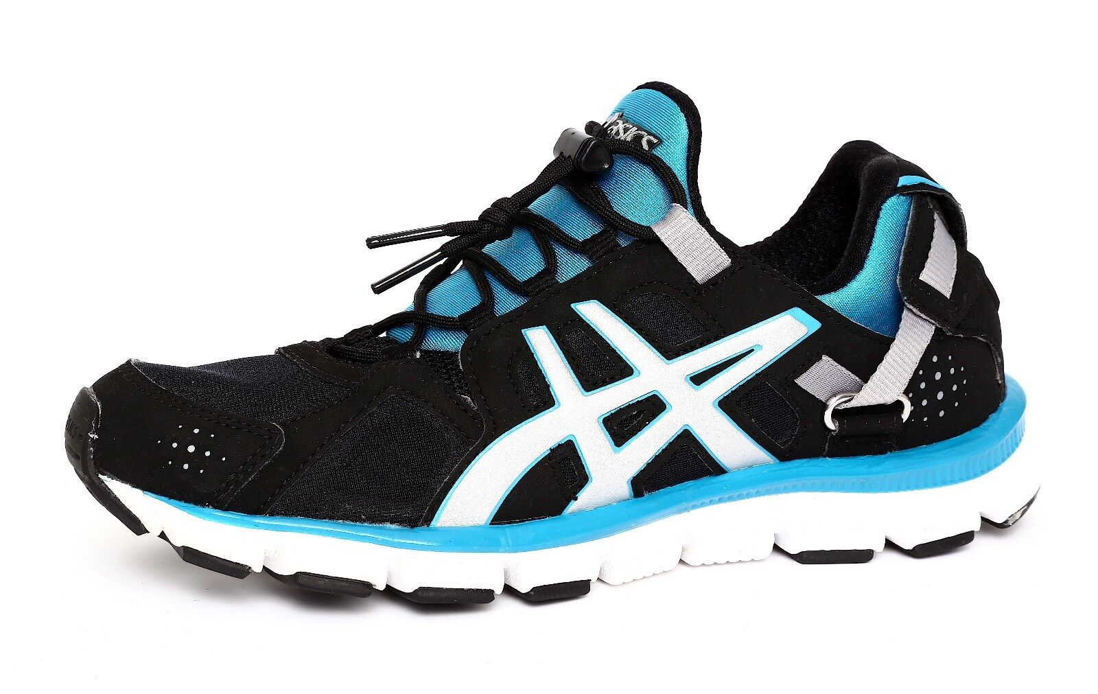 Asics Women's Gel-Synthesis Black Blue Sneaker Sz 6 1809 The latest discount shoes for men and women