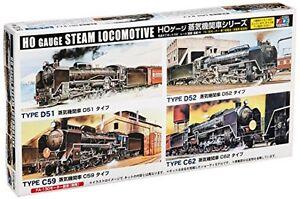 HO-type-SL-steam-locomotive-free-Type-Series-C62-Plastic-Model-Kit