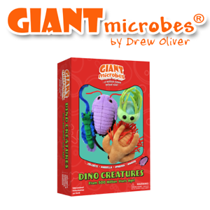 Giant Microbes a tema Box Set DINO creature GIANTMICROBES Officially Licensed