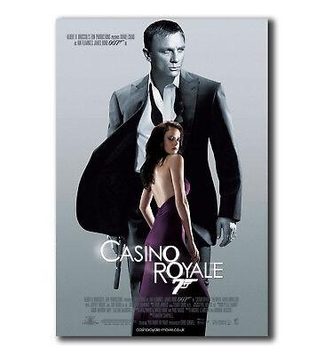 "T-917 Art Poster 007 Casino Royale James Bond Daniel Craig Huge Movie Hot 27x40/"""
