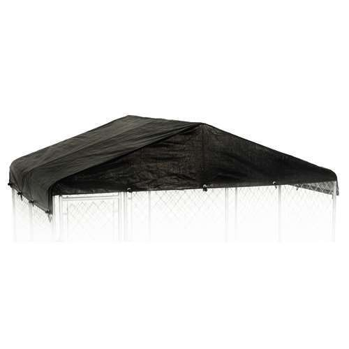 WeatherGuard 10' x 10' Outdoor Dog Enclosure Waterproof Roof Cover (Open Box)
