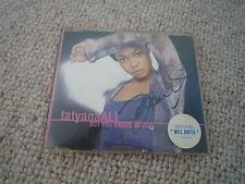 TATYANA ALI  signed Autogramm In Person DER PRINZ VON BEL AIR Will Smith CD