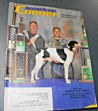 AMERICAN COONER MAGAZINE NOV 2010 WORLD NITE HUNT CHAMPION
