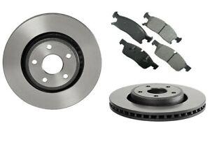 2x 350mm Bremsscheiben + Keramik Bremsbeläge vorne für Dodge Durango 2011-2020