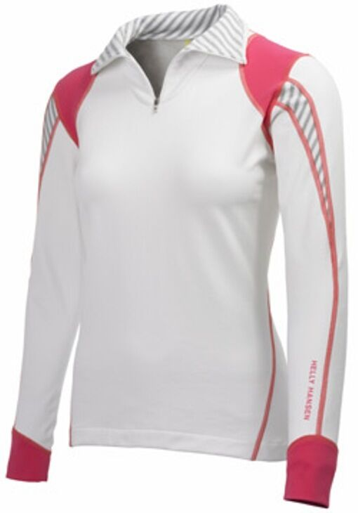 CLEARANCE Womens Helly Hansen Bullet Half Zip Mid Layer Medium RRP .95